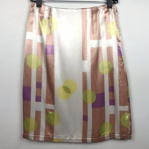 Versace | Vintage Skirt Abstract Pencil